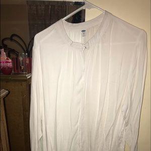 White 3/4 sleeve top